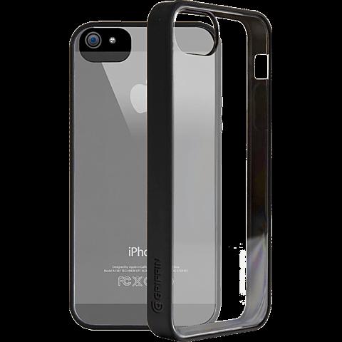 Griffin Reveal Case Apple iPhone 5/5s schwarz hinten 99919925