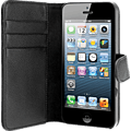 xqisit Wallet Case Apple iPhone 5 schwarz katalog 99919962