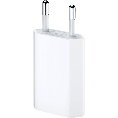 Apple USB Power Adapter für iPhone weiss hero 99919985
