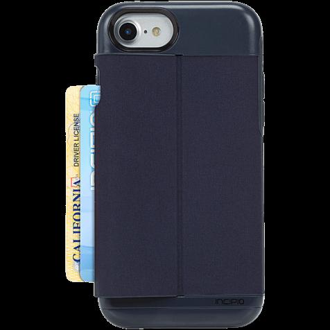 Incipio Esquire Series Wallet Case Heather Navy Apple iPhone 7 99926279 hero