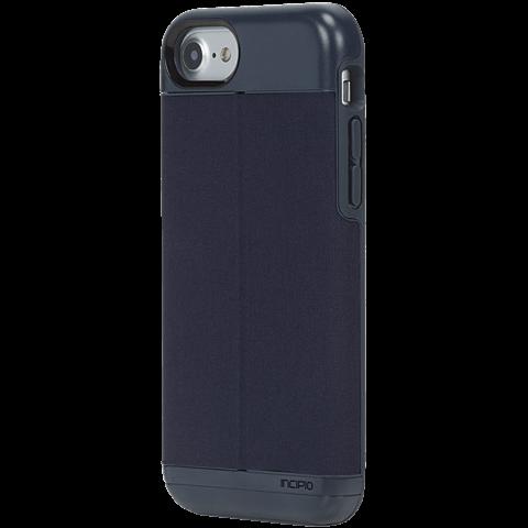 Incipio Esquire Series Wallet Case Heather Navy Apple iPhone 7 99926279 seitlich