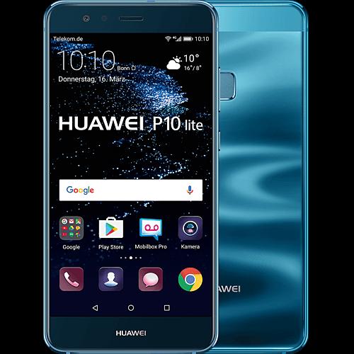 HUAWEI P10 lite blau vorne und hinten