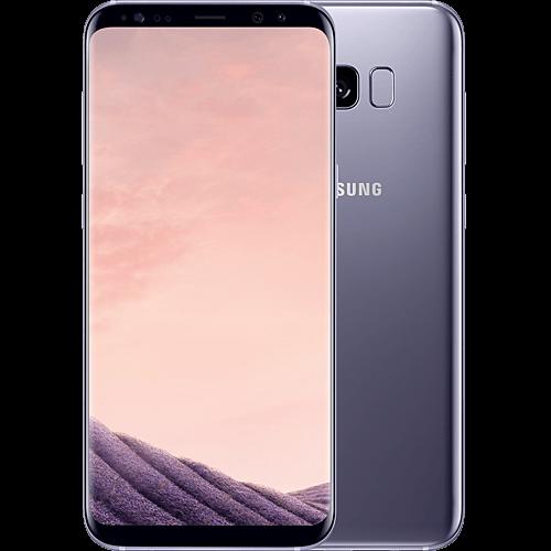 Samsung Galaxy S8 Plus Grau vorne und hinten