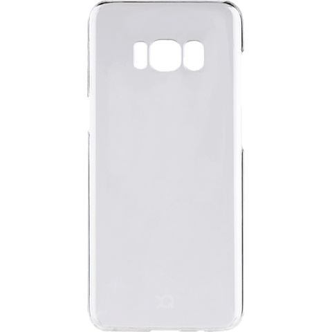 xqisit iPlate Cover Transparent Samsung Galaxy S8 99926344 hinten
