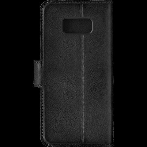 bugatti Booklet Zürich Schwarz Samsung Galaxy S8+ 99926375 hinten
