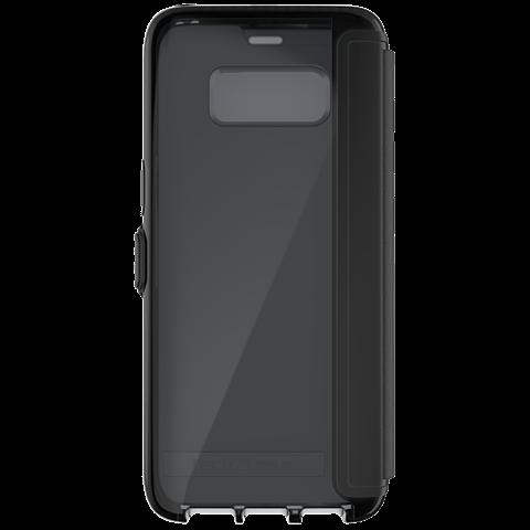 Tech21 Evo Wallet Hülle Schwarz Samsung Galaxy S8 99926378 hinten