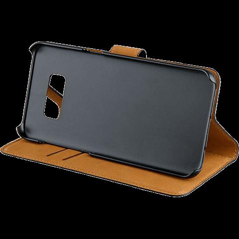xqisit Slim Wallet Selection Schwarz Samsung Galaxy S8 99926342 seitlich
