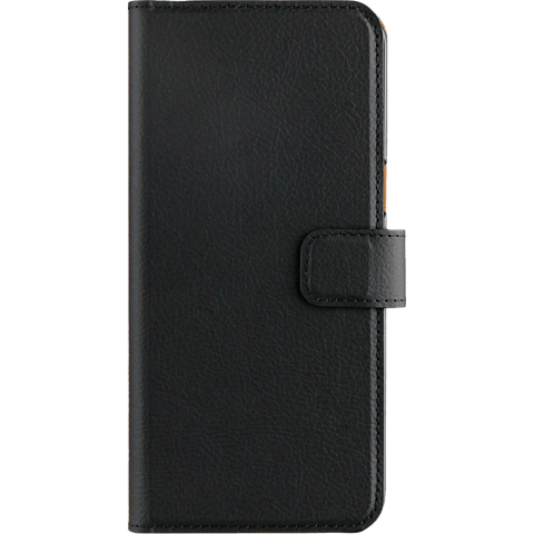 xqisit Slim Wallet Selection Schwarz Samsung Galaxy S8 99926342 vorne