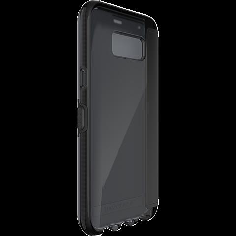 Tech21 Evo Wallet Hülle Schwarz Samsung Galaxy S8+ 99926381 hinten