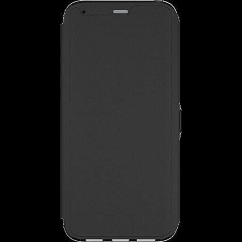Tech21 Evo Wallet Hülle Schwarz Samsung Galaxy S8+ 99926381 vorne