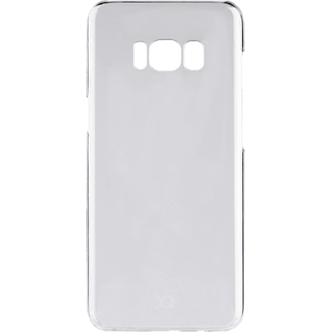 xqisit iPlate Cover Transparent Samsung Galaxy S8+ 99926345 hinten