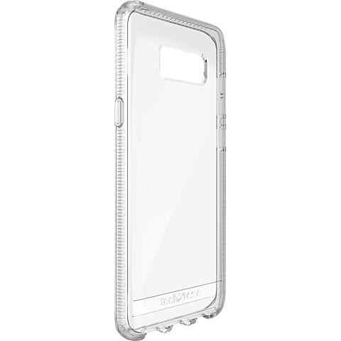 Tech21 Pure Clear Hülle Transparent Samsung Galaxy S8+ 99926380 seitlich
