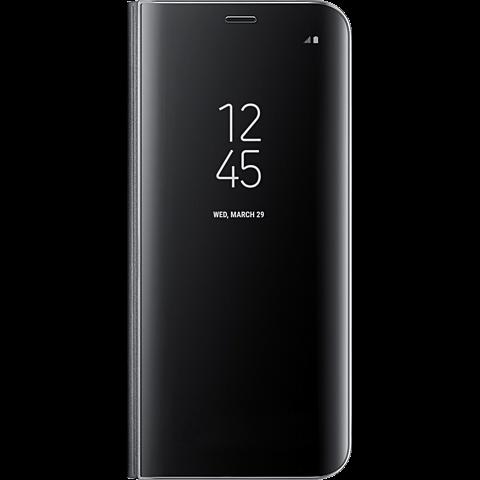 Samsung Clear View Cover Schwarz Galaxy S8 99926492 vorne