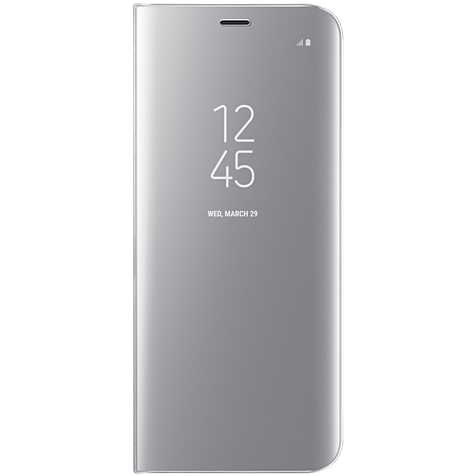 Samsung Clear View Cover Silber Galaxy S8 99926494 hero