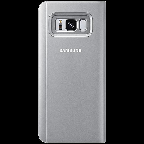 Samsung Clear View Cover Silber Galaxy S8 99926494 hinten