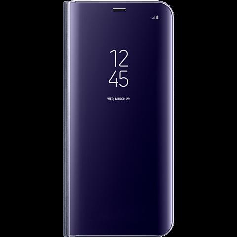 Samsung Clear View Cover Violett Galaxy S8+ 99926496 vorne