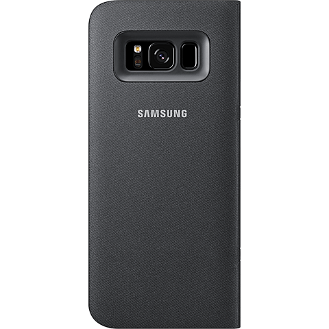 Samsung LED View Cover Schwarz Galaxy S8 99926499 hinten