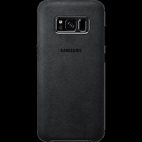 Samsung Alcantara Cover silbergrau Samsung S8 99926486 hero