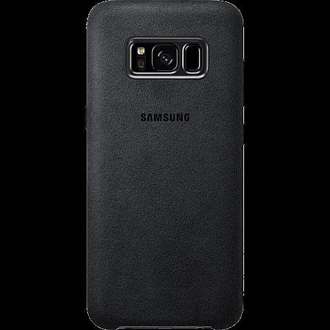 Samsung Alcantara Cover silbergrau Samsung S8 99926486 hinten