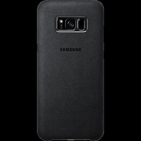 Samsung Alcantara Cover silbergrau Samsung S8+ 99926487 hero