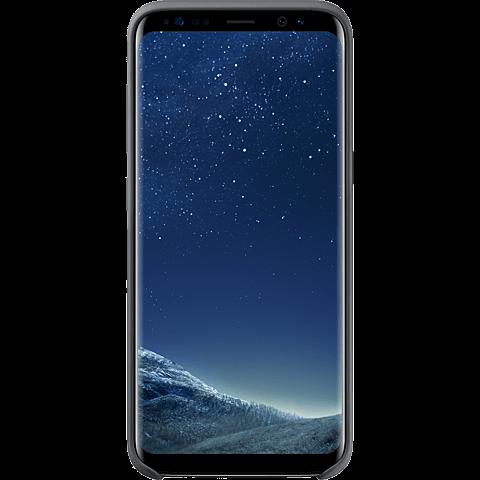 Samsung Silicone Cover Samsung Galaxy S8 Silbergrau 99926490 vorne
