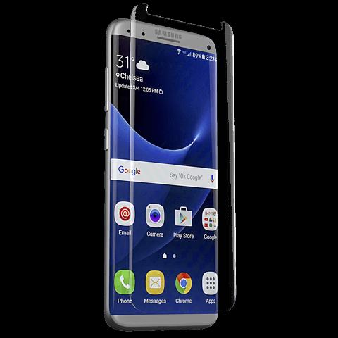 ZAGG InvisibleShield Glass Contour Samsung Galaxy S8+ 99926460 vorne