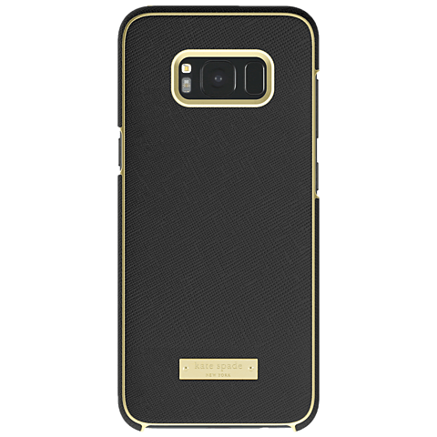 Kate Spade New York Wrap Case Samsung Galaxy S8+ Saffiano Black 99926418 hinten