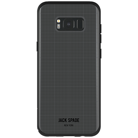 Jack Spade Graph Check Case Clear Samsung Galaxy S8+ 99926419 hero