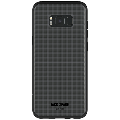 Jack Spade Graph Check Case Clear Samsung Galaxy S8+ 99926419 hinten