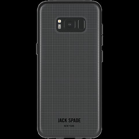 Jack Spade Graph Check Case Clear Samsung Galaxy S8 99926438 hinten