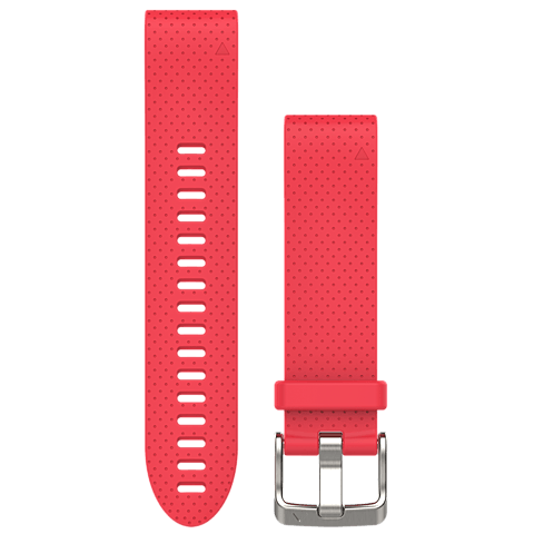 Garmin QuickFit Armband Pink 20mm fenix 5S 99926537 vorne