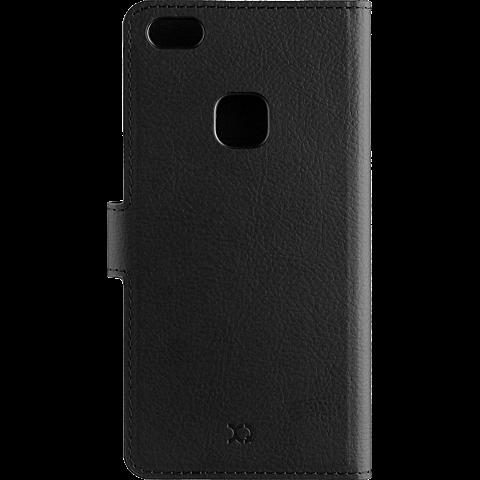 xqisit Slim Wallet Selection Schwarz Huawei P10 lite 99926338 hinten