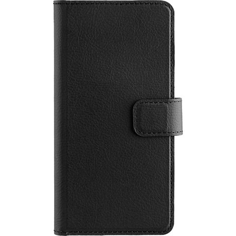 xqisit Slim Wallet Selection Schwarz Huawei P10 lite 99926338 vorne