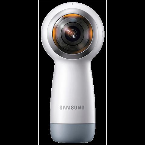 Samsung Gear 360 Kamera (2017) Weiß 99926534 hinten
