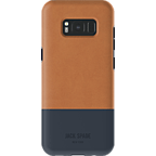 Jack Spade Colorblock Case Fulton Leather Tan Navy Samsung Galaxy S8 99926434 kategorie