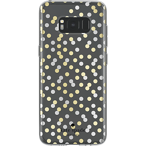 Kate Spade New York Hardshell Case Samsung Galaxy S8 Confetti Dot Clear 99926424 hero