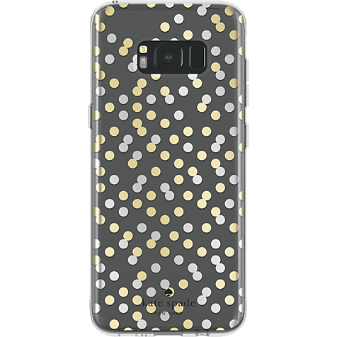 Kate Spade New York Hardshell Case Confetti Dot Clear Samsung Galaxy S8+ 99926425 hero