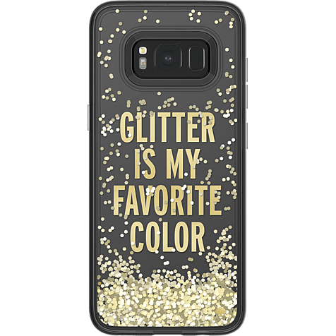 Kate Spade New York Liquid Case Samsung Galaxy S8 Glitter Gold 99926422 hero