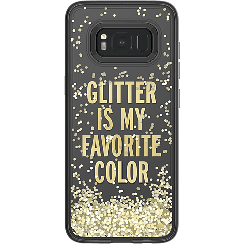 Kate Spade New York Liquid Case Samsung Galaxy S8 Glitter Gold 99926422 hinten