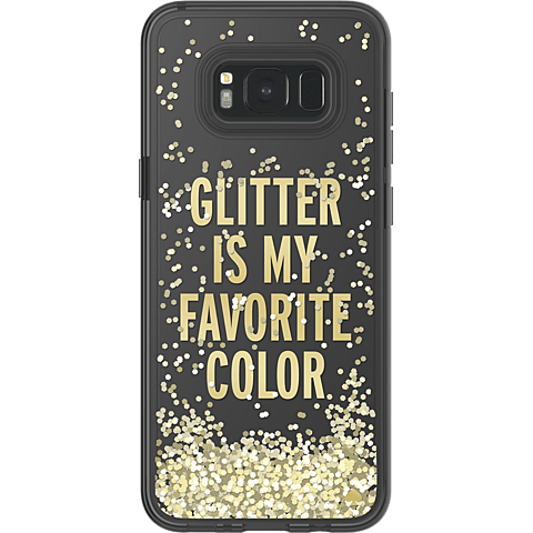 Kate Spade New York Liquid Glitter Case Gold Samsung Galaxy S8+ 99926423 hinten
