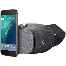 Google Pixel inklusive Daydream View VR