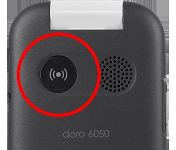 Doro 6050 - Integrierte Notruftaste