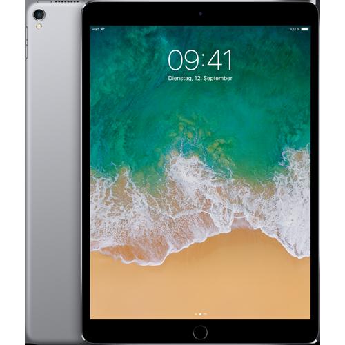 Apple iPad Pro 10,5'' WiFi Spacegrau vorne und hinten