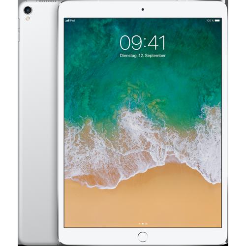 Apple iPad Pro 10,5'' WiFi und Cellular Silber vorne und hinten