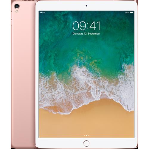 Apple iPad Pro 10,5'' WiFi und Cellular Rosegold vorne und hinten