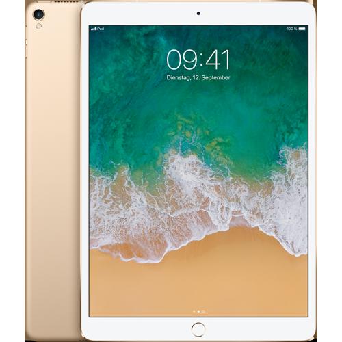 Apple iPad Pro 10,5'' WiFi und Cellular Gold vorne und hinten