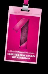 MagentaEins Prio Tickets 48 Stunden vor Vorverkauf