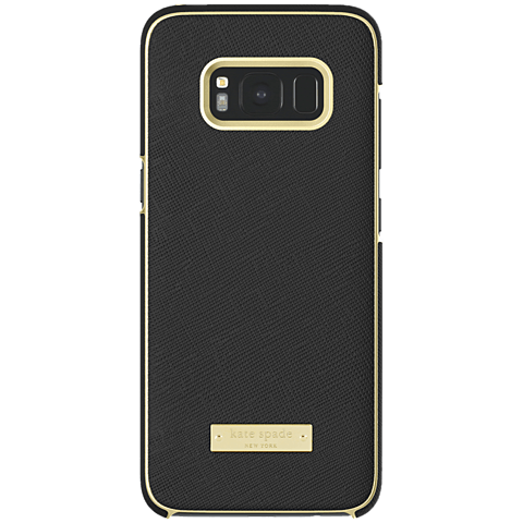 Kate Spade New York Wrap Case Samsung Galaxy S8 Saffiano Black 99926428 hinten