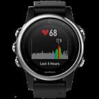 Garmin fenix 5S GPS-Multisport Smartwatch Silber Schwarz 99926543 kategorie