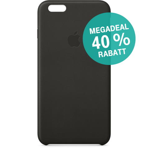 Apple iPhone 6s Plus Leder Case Schwarz 99924550 hero MegaDeal